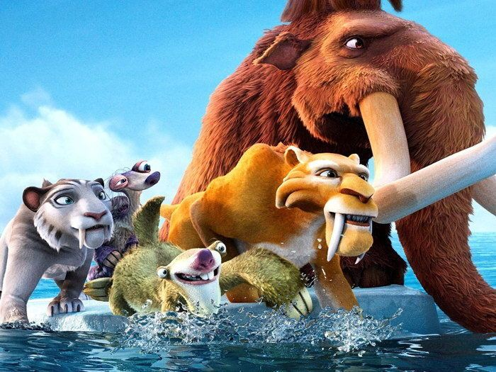 Ice Age 4 Continental Drift Movie Wall Print POSTER #PopArt