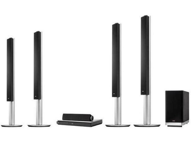 LG's BH9540TW home cinema system crams in a lot of high-end features. It's a 9.1 speaker system with wireless rear speakers plus DVD and 3D Blu-ray playback, and it can also upscale Blu-rays for Ultra HD TV sets. Throw in built-in smart TV and streaming capabilities, and it seems like there's nothing this home cinema system can't do. - Which?