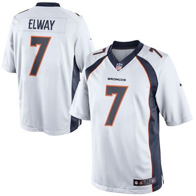 John Elway Denver Broncos Nike Retired Player Limited Jersey – White