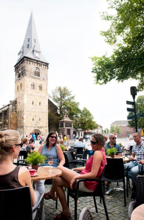 Oude markt Enschede