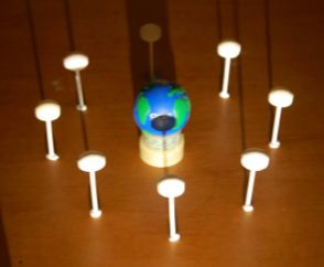 Earth Learning Idea: Modelling eclipses of the Moon and the Sun