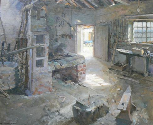 1000 images about david curtis artist on pinterest cornwall david j and watercolour - Pintores de interiores ...
