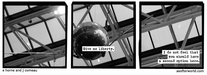 Wait. Give me liberty or give YOU death. How about that?