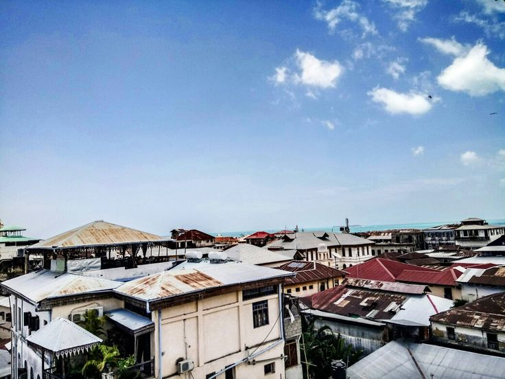 Rooftop view in Stone town
