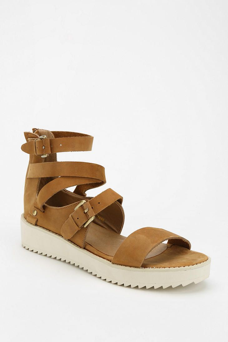 Stolen Girlfriends Club Caged Platform Sandal #urbanoutfitters