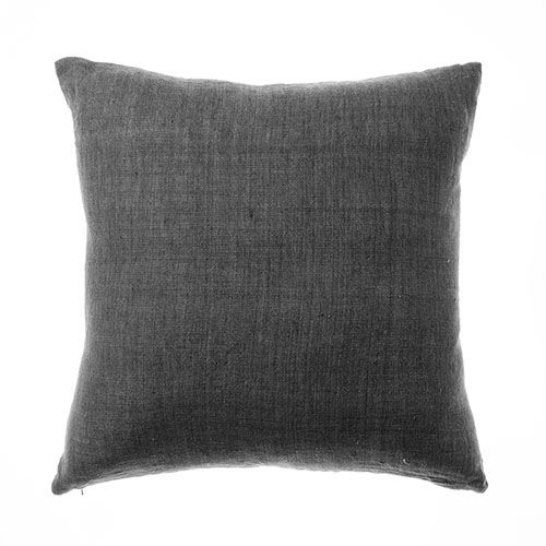Malmo Linen Coal Cushion