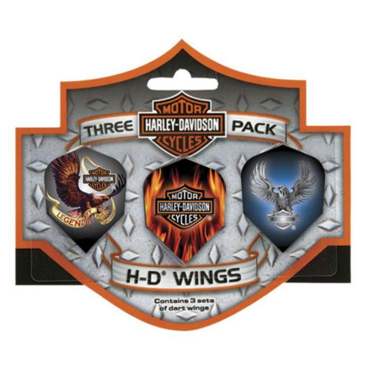 Harley-Davidson® Wings Eagle Dart Flights - 643