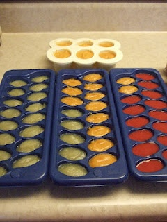 Being Farrah's Mom: Baby Food - Batch Cooking