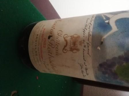 Chateau Mouton Rothschil Magnum 1982
