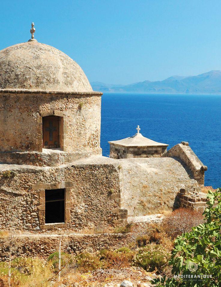 lina's garden — mediteranique:     Sea views from a church in...