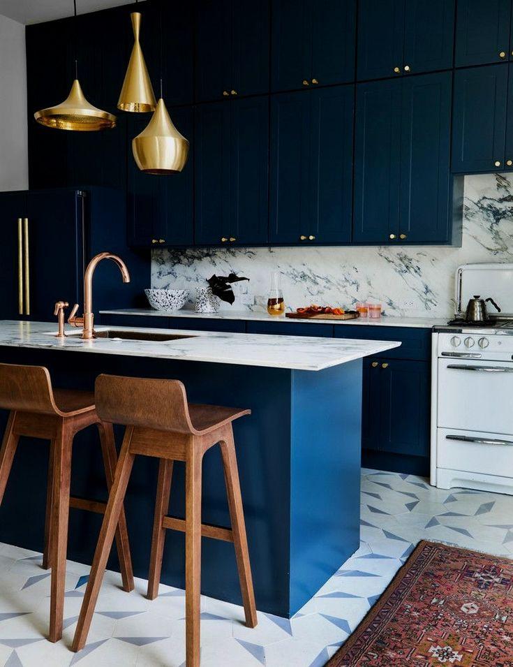 pin by selev borislav on home decor in 2020 navy blue kitchen cabinets navy kitchen cabinets on kitchen decor navy id=62089
