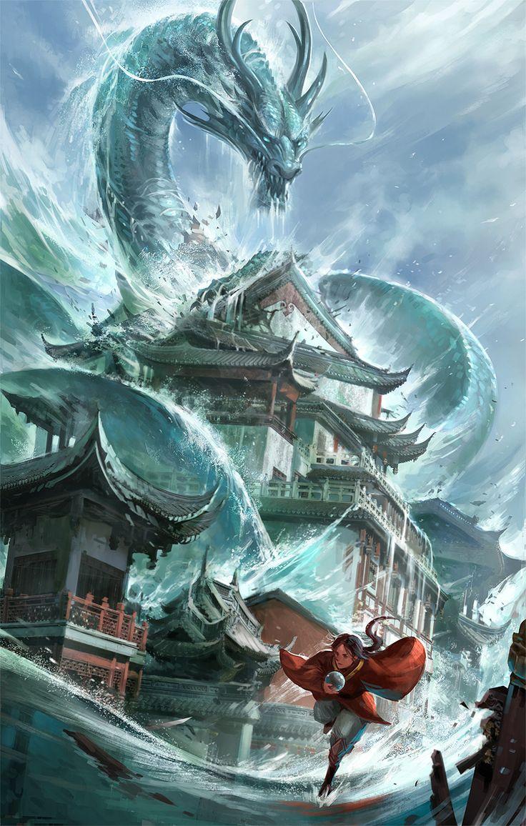 O Dragão da Agua, aprisionado na Cachoeira eterna com o Orbe da Sabedoria, foi libertado e está pronto para iniciar sua vingança
