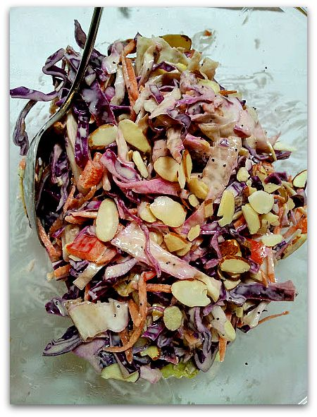 I am a big fan of coleslaw, and I make it year round. As a side dish, topping for tacos or piled on top of a sandwich, this versatile dis...