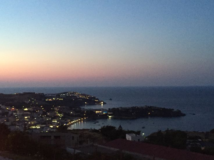 Agia Pelagia-by night!!! Live your dream in Crete !!