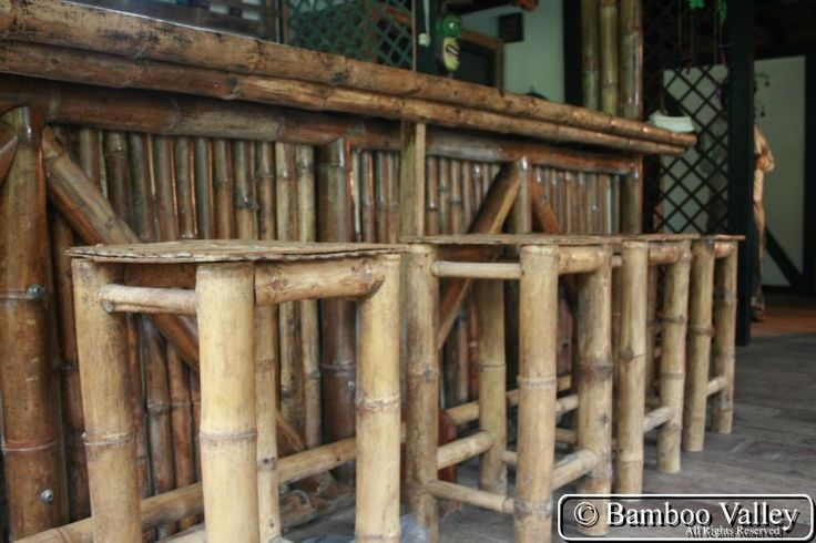 66 best images about tiki bar themes on pinterest retro for Things you can make with bamboo
