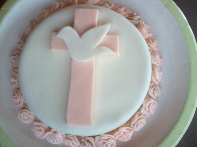 Confirmation Cake by ☠ Ambjer ☠, via Flickr