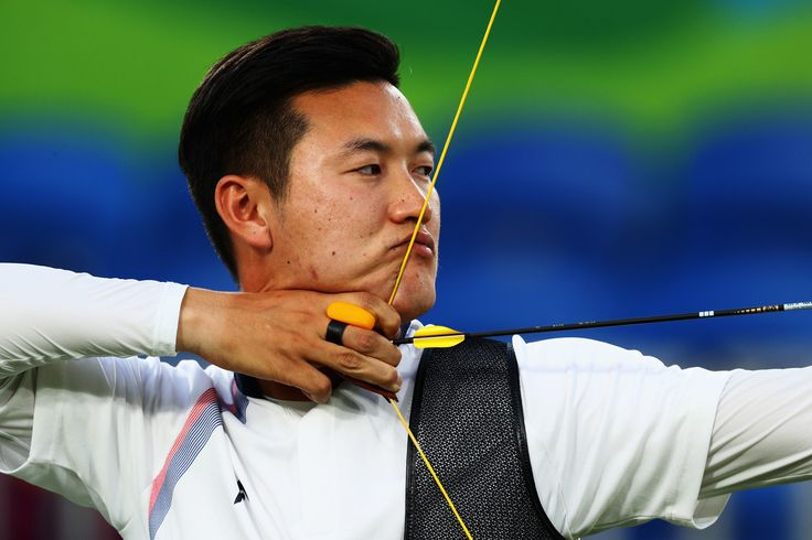 Day 1: Archery Men's Team - Bonchan Ku of Korea