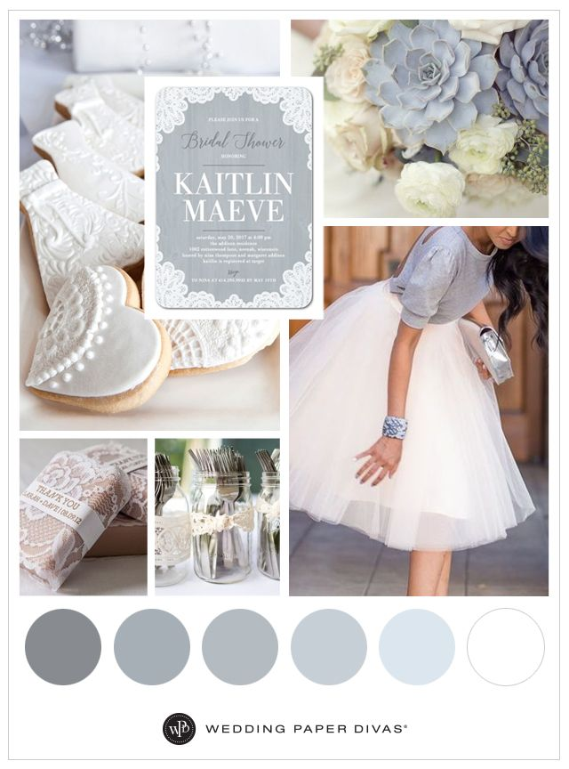 Lace and Blue Bridal Shower Theme 60