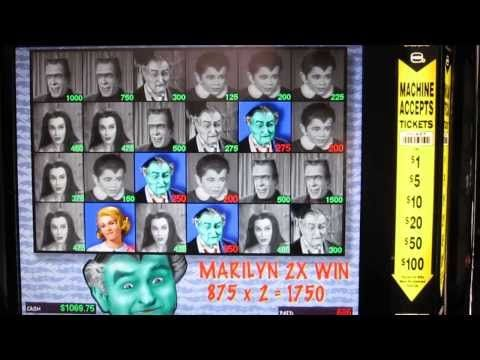 IGT The Munsters Slot Machine - YouTube
