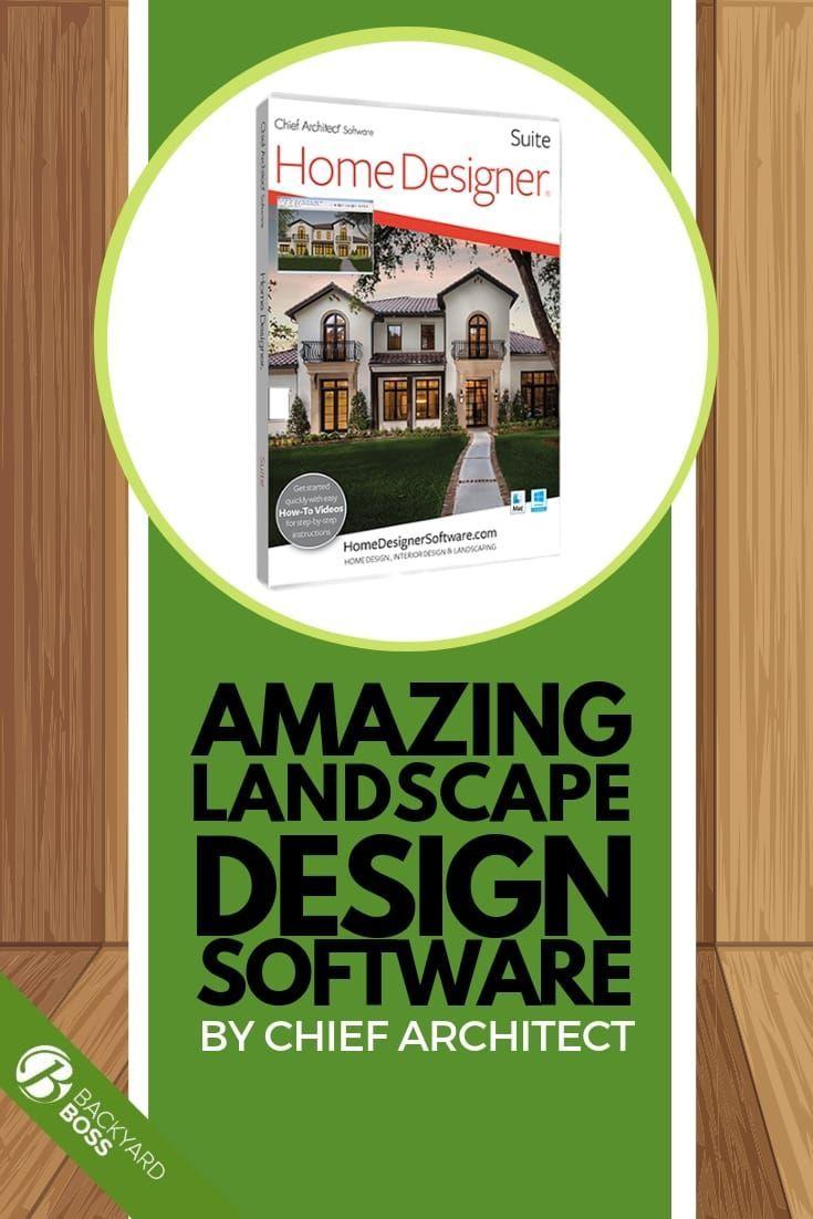 Amazing Landscape Design Software By Chief Architect Landscape Design Software Chief Architect Home Design Software
