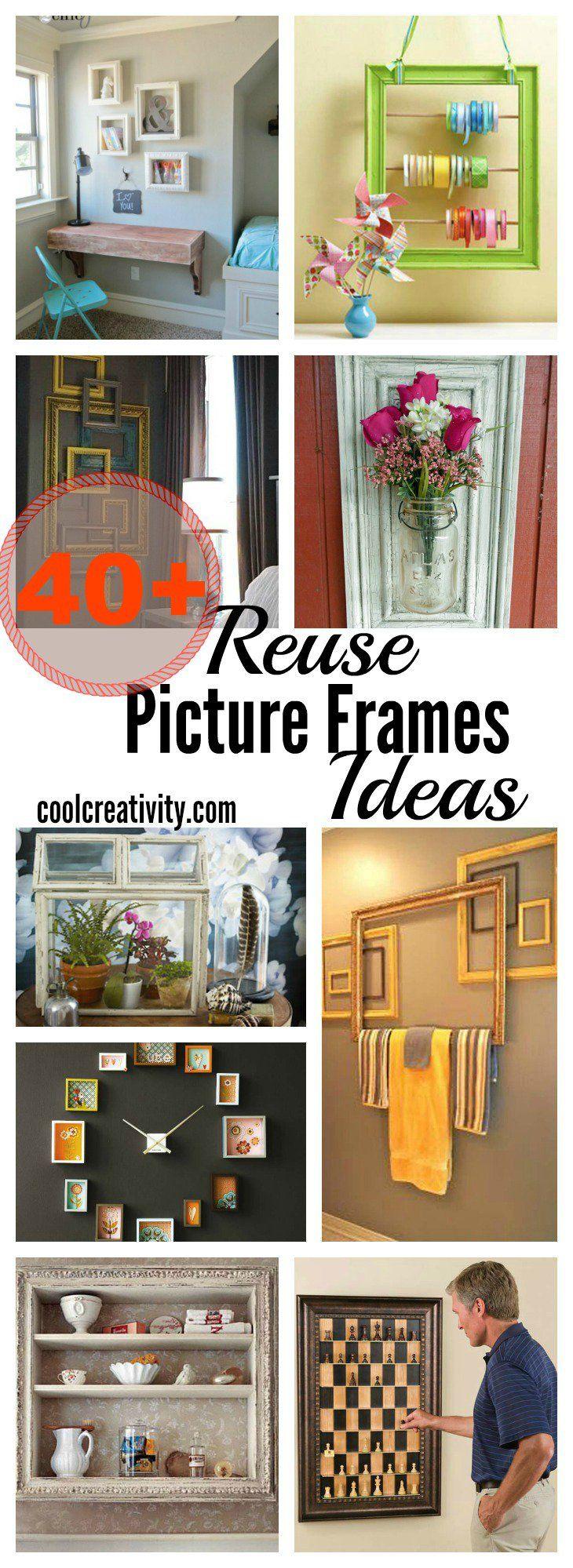 505 best Repurposed Frames images on Pinterest | Frames, Old frames ...