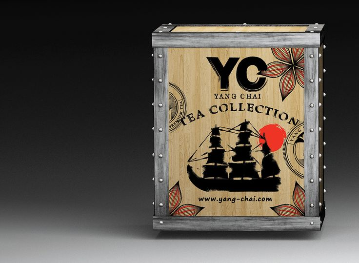 packaging design tea box