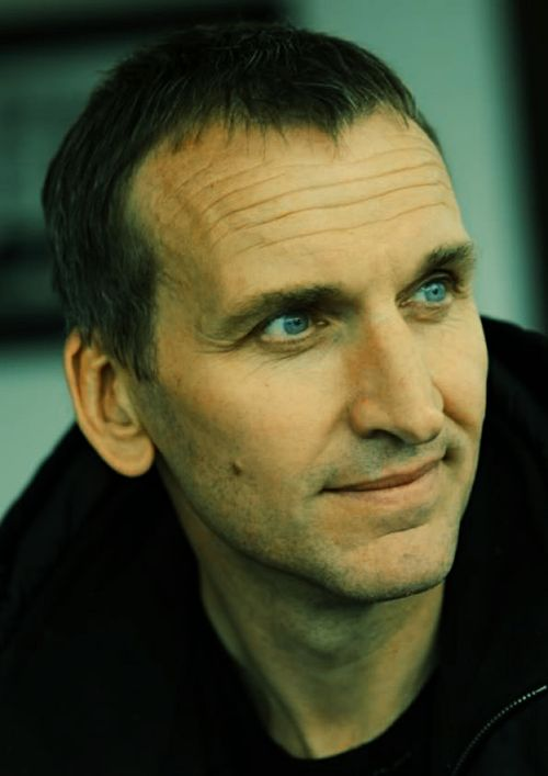 Chris Eccleston....mercy those eyes