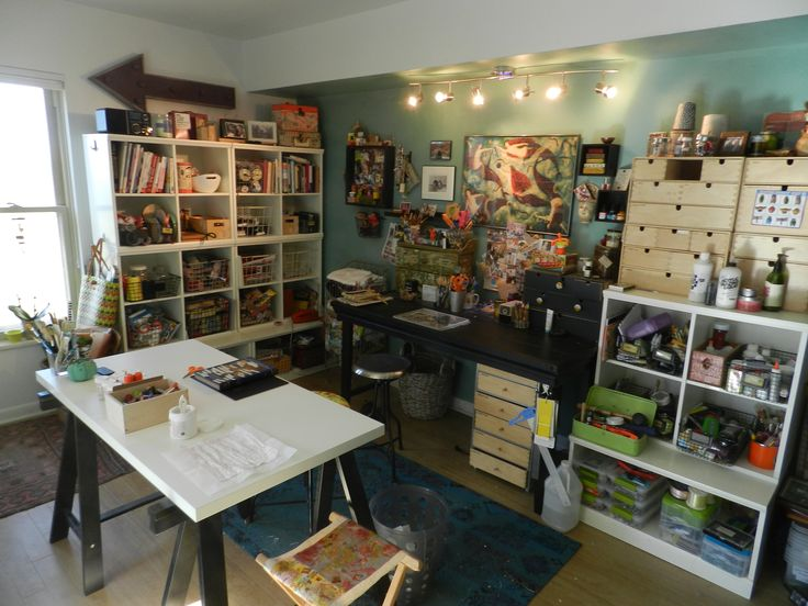 Studio/craft Space...one day I will have a craft room!!!