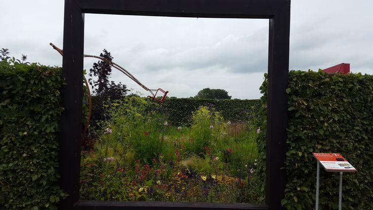 Houten doorkijk raam, Appeltern