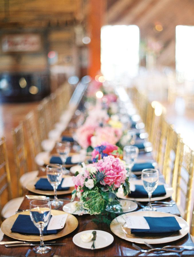 190 best Wedding Table Settings images on Pinterest | Table setting ...