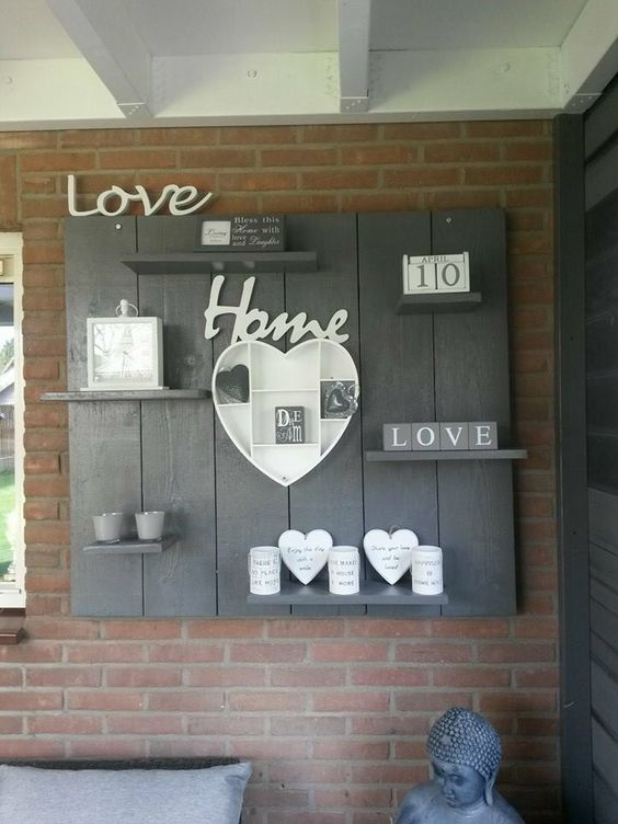Shabby chic style pallet! 20 beautiful DIY creations to inspire you