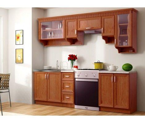 Kuchyňa - Renar - Karolina 260 cm dub starý