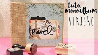 (9) Cómo hacer un Miniálbum de sobres. Manualidades para el Día del Padre *TUTORIAL SCRAPBOOK* - YouTube