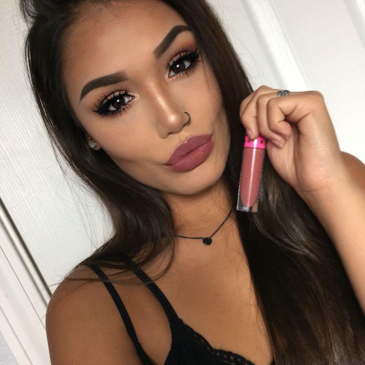 Gemini Velour Liquid Lipstick by Jeffree Star Cosmetics details on this look on my insta: makeupbyalanna_