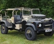 """1993 Land Rover 110"""" Special Operations Vehicle"""
