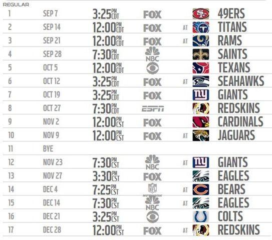 Print 2014 2015 Dallas Cowboys schedule 2014 2015 - Dallas Cowboys 2014 2015 schedule print - Dallas Cowboys schedule 2014 2015