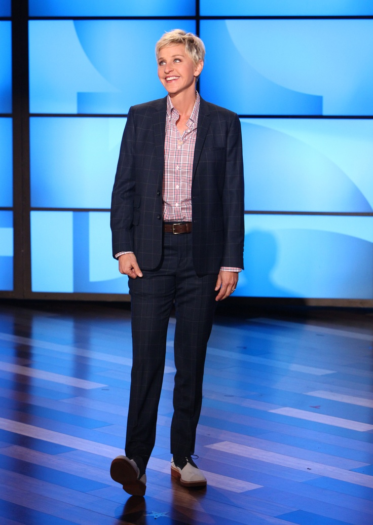 Ellen's Look of the Day: Seize sur Vingt shirt, J.Crew belt, Sartore saddle shoes