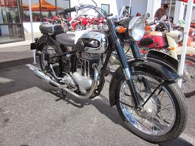 Meguro was a major motorcycle manufacturer in post-war Japan.  The company was bought by Kawasaki Heavy Industries.        Yes,  it's a J...