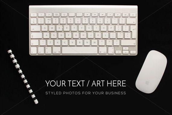 Desktop Stock Photography Keyboard Pen Mouse by confettibears