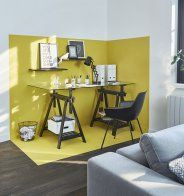 Une couleur stimulante pour le bureau - Marie Claire Maison