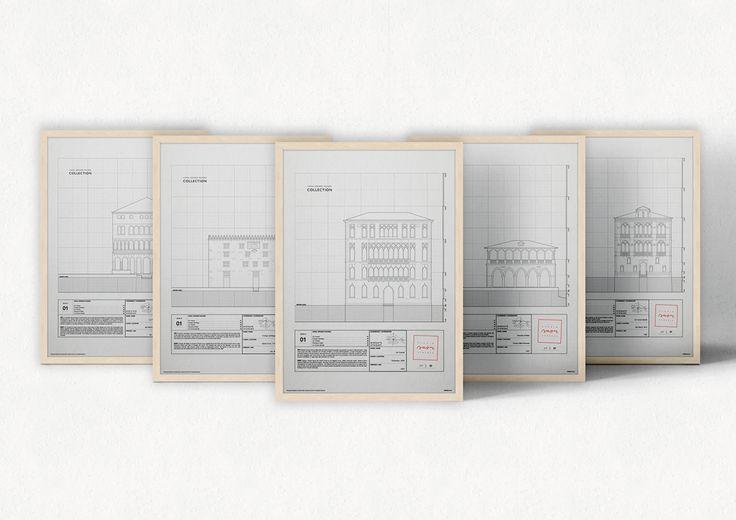 Studio Saòr on Behance / Canal Grande Façades Collection