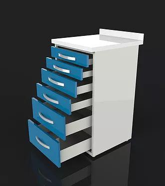 acrylic surface dental clinical cupboard models