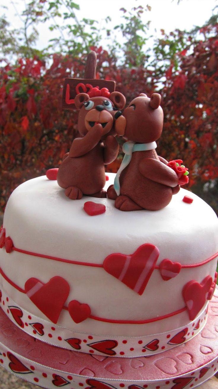 Cake in love....