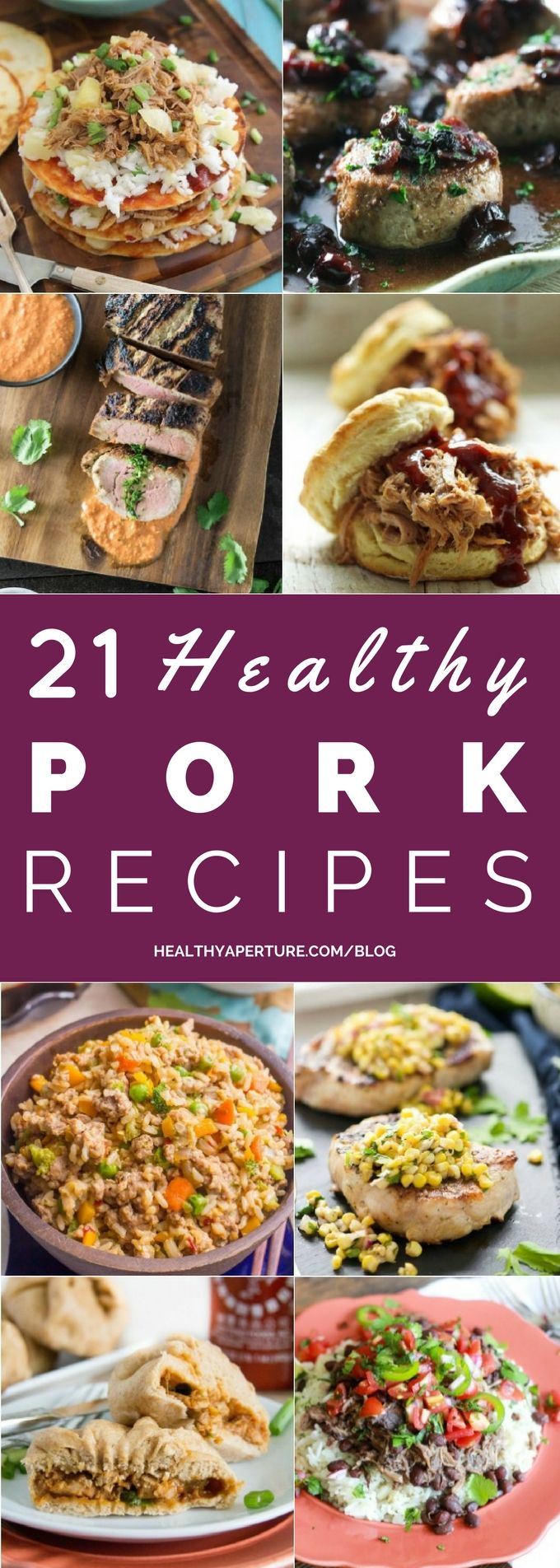 If you're tired of chicken and beef but need something new for your meal plan, check out these 21 Healthy Pork Dinner Recipes