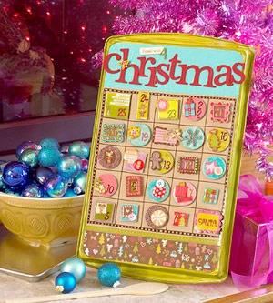 Cookie-sheet Magnetic Advent