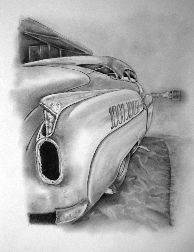 "Jeff Brock's ""52 Buick, Bombshell Betty""... salt flats record setter."