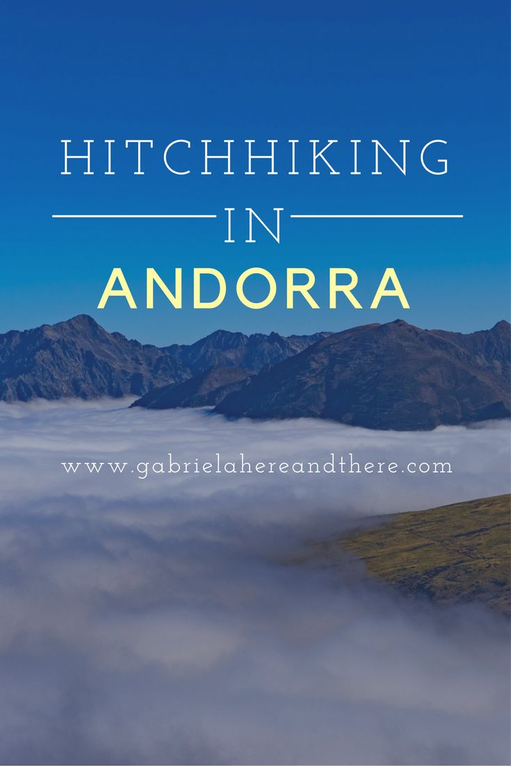 Hitchhiking story from Andorra to France. Read the post more info about Andorra and hitchhiking.