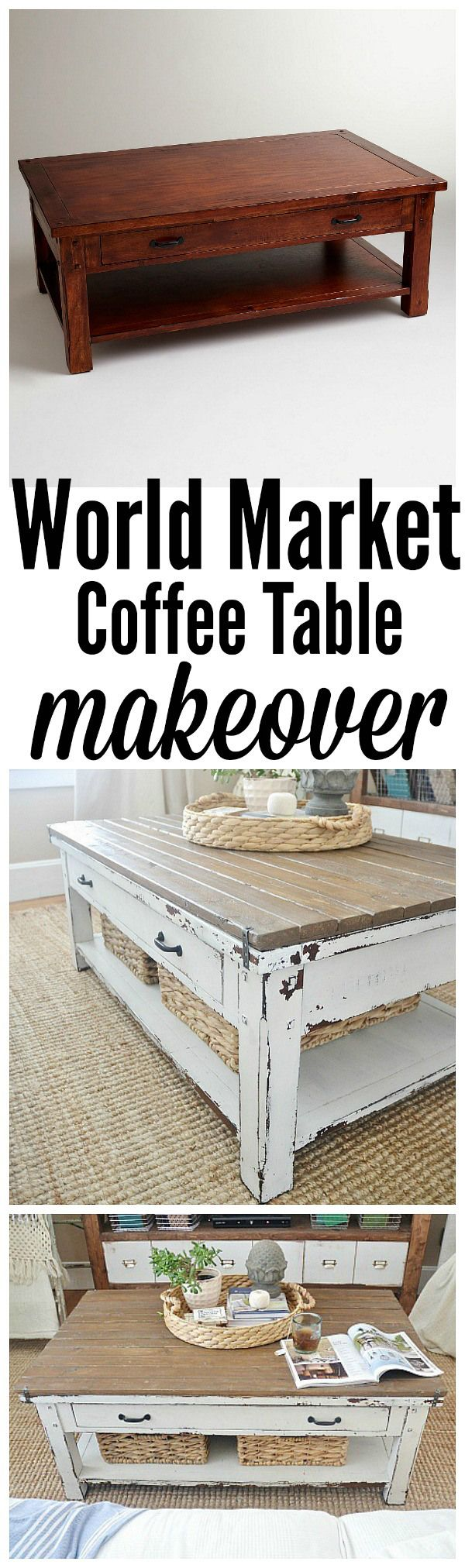 25 Best Ideas About Coffee Table Makeover On Pinterest