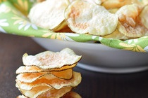 Potato chips in the microwave - want to try this!