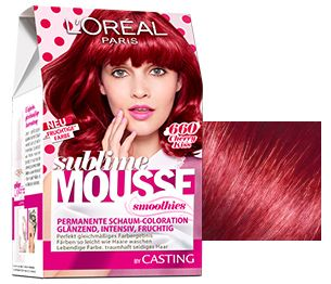 Rote Haare und rote Haarfarben - L'Oréal Paris cherry kiss